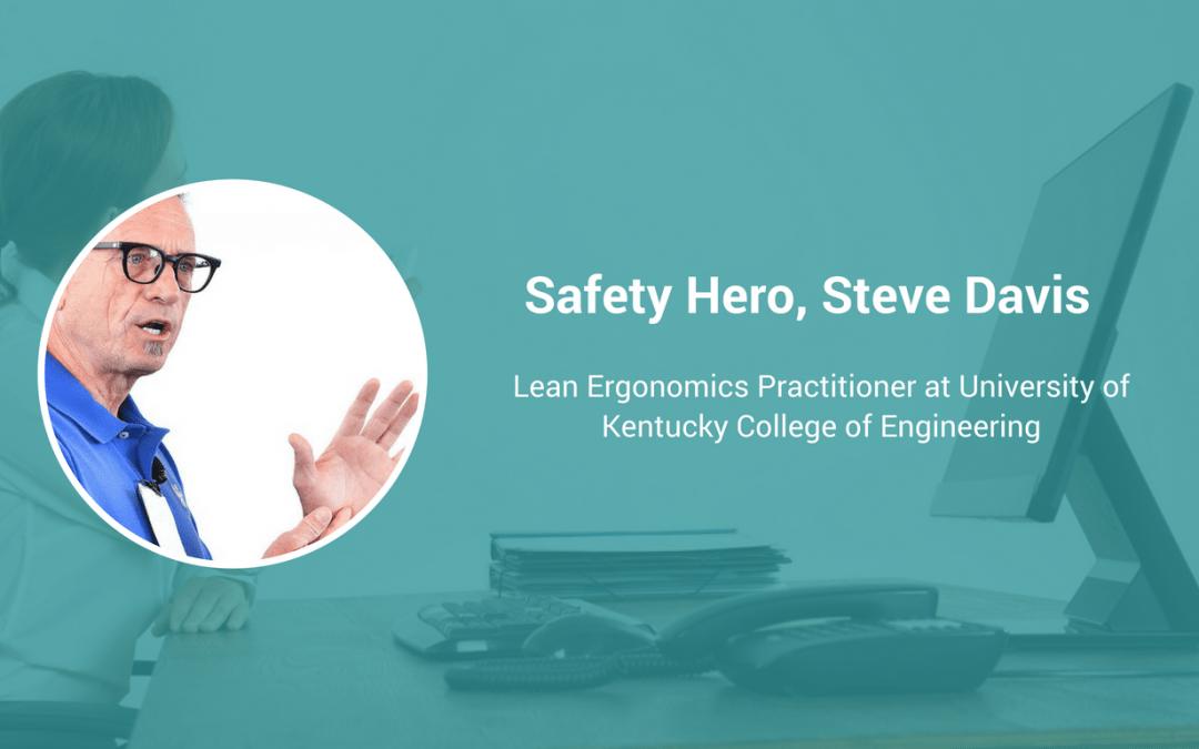 Safety Hero, Steve Davis is helping entire communities transform