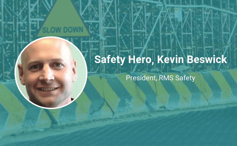 Safety Hero Kevin Beswick