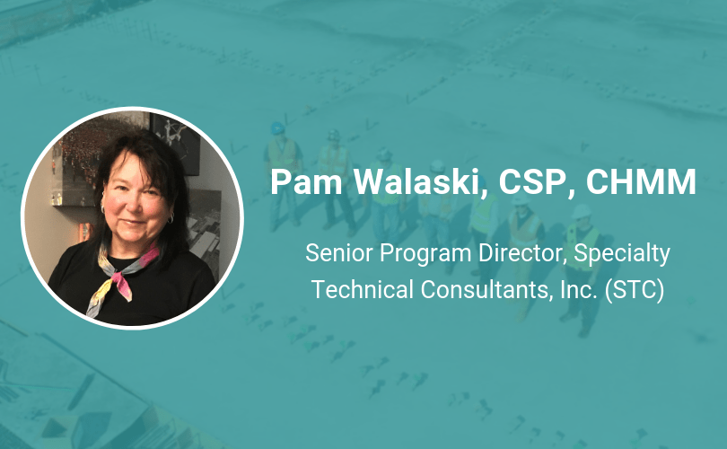 pam Walaski, CSP ireportsource safety hero