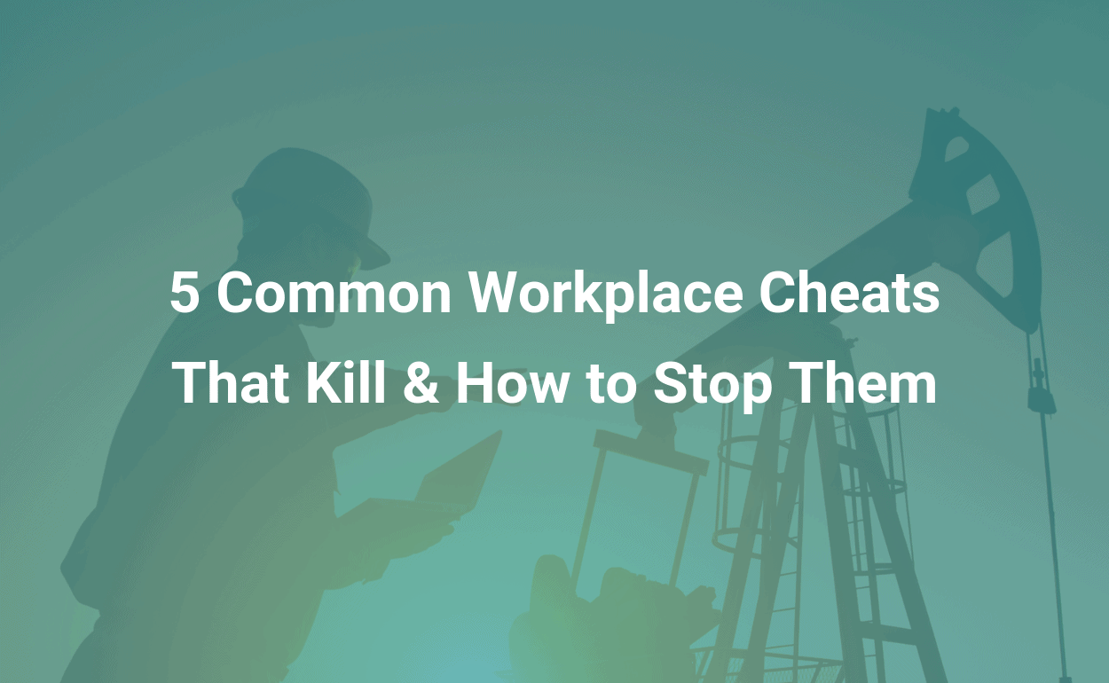 ireportsource blog 5 Common Workplace Cheats That Kill and How to Stop Them
