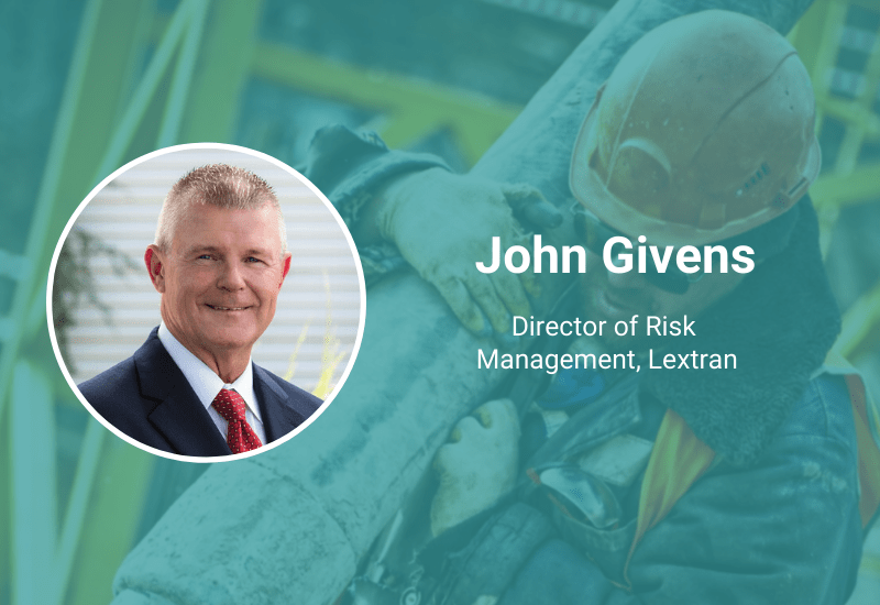 safety hero john givens director of risk management