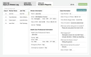 OSHA 301 Log - Automate the process with iReportSource