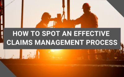 How to Spot an Effective Claims Management Process