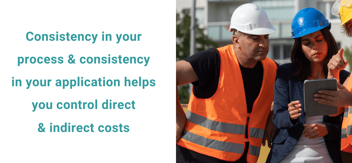 consistency is key in claims management process