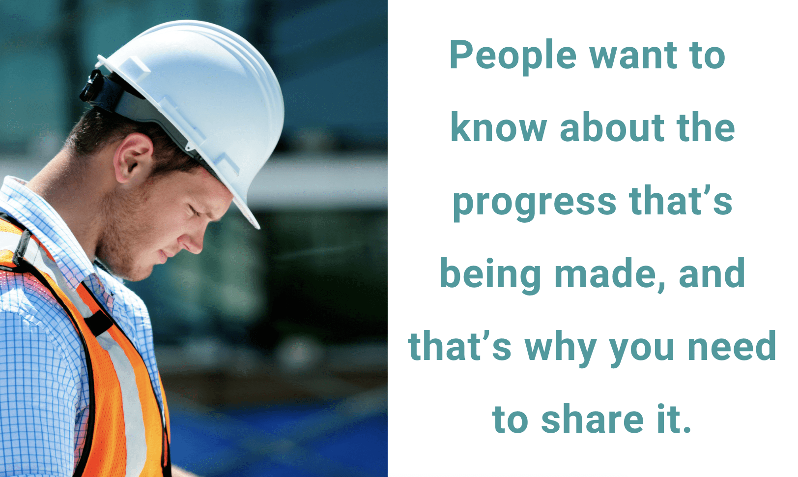 show people the progress in your safety culture